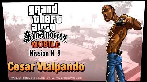 GTA San Andreas - iPad Walkthrough - Mission 9 - Cesar Vialpando (HD)