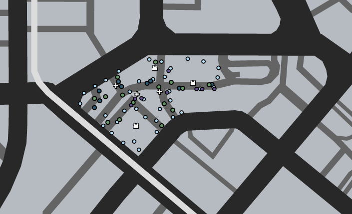 Chamberlain Hills Deathmatch GTAO Map.png