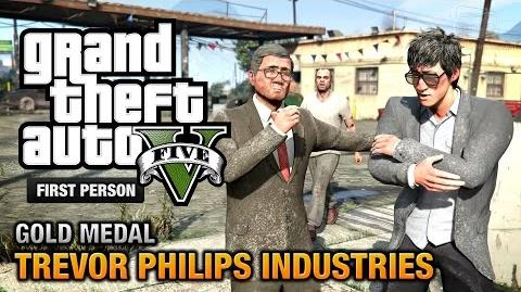 GTA 5 - Mission 18 - Trevor Philips Industries First Person Gold Medal Guide - PS4
