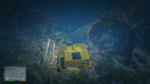 Wreck Submarine GTAV Both Halves