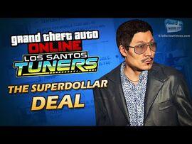 GTA Online- Los Santos Tuners - The Superdollar Deal -Solo-