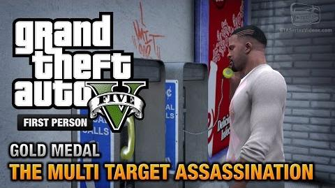 GTA 5 - Mission 34 - The Multi Target Assassination First Person Gold Medal Guide - PS4