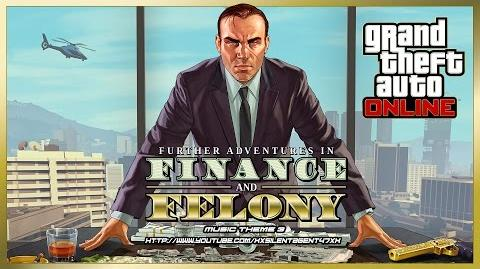 Grand Theft Auto GTA V 5 Online Finance and Felony - Power Play (Adversary Mode) Music Theme 3
