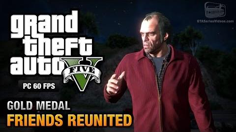 GTA 5 PC - Mission 21 - Friends Reunited Gold Medal Guide - 1080p 60fps