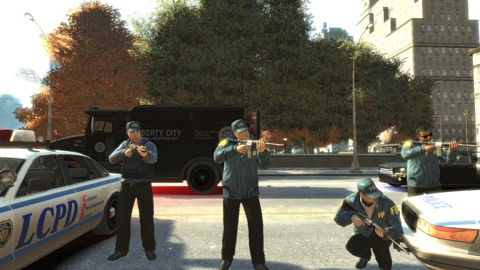 GTA IV PC MOD - FBI Agents in Action.jpg