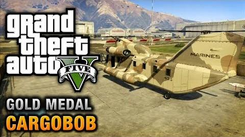 GTA 5 - Mission 31 - Cargobob 100% Gold Medal Walkthrough