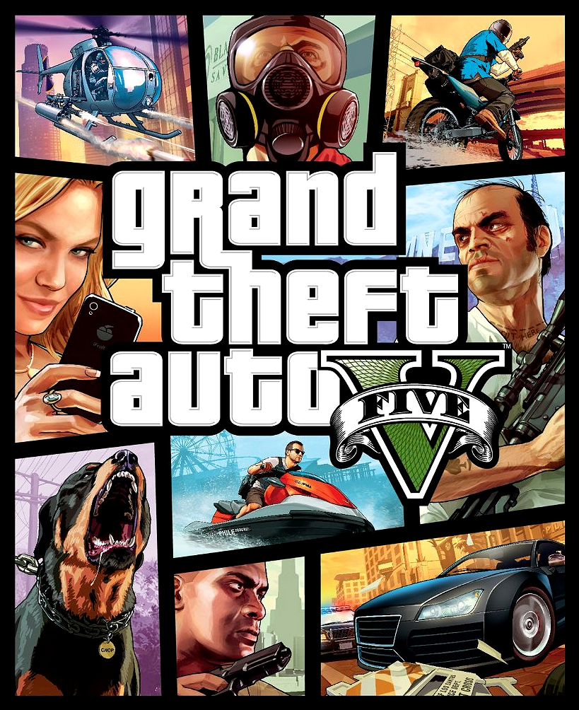 """latest?cb=20130826184215 - """"Developed by series creator Rockstar North, Grand Theft Auto V heads to the city of Los Santos and its surrounding hills, countryside and beaches in the largest and most ambitious game Rockstar has yet created."""" ―Rockstar Games - Free Game Hacks"""