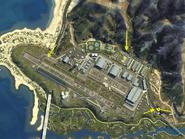 Fort Zancudo GTAV Vehicle Access Jumps