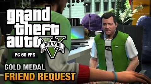 GTA 5 PC - Mission 8 - Friend Request Gold Medal Guide - 1080p 60fps