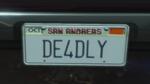 Custom Plate GTAO DE4DLY