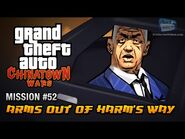 GTA Chinatown Wars - Mission -52 - Arms Out of Harm's Way