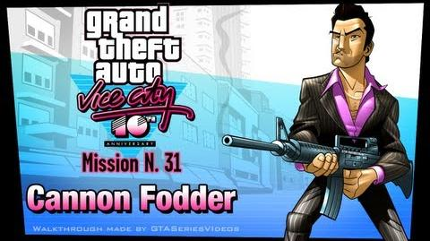 GTA Vice City - iPad Walkthrough - Mission 31 - Cannon Fodder
