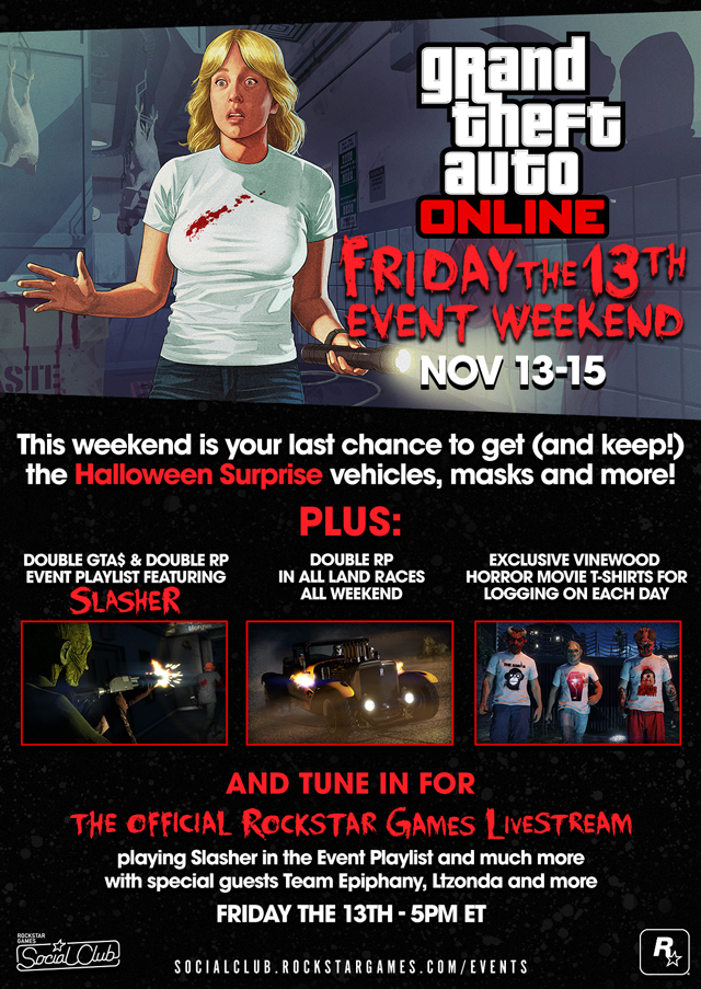 Friday the 13th Event Weekend