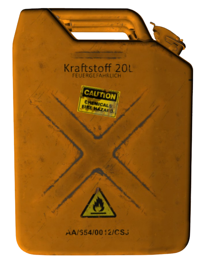 Hazardous Jerry Can