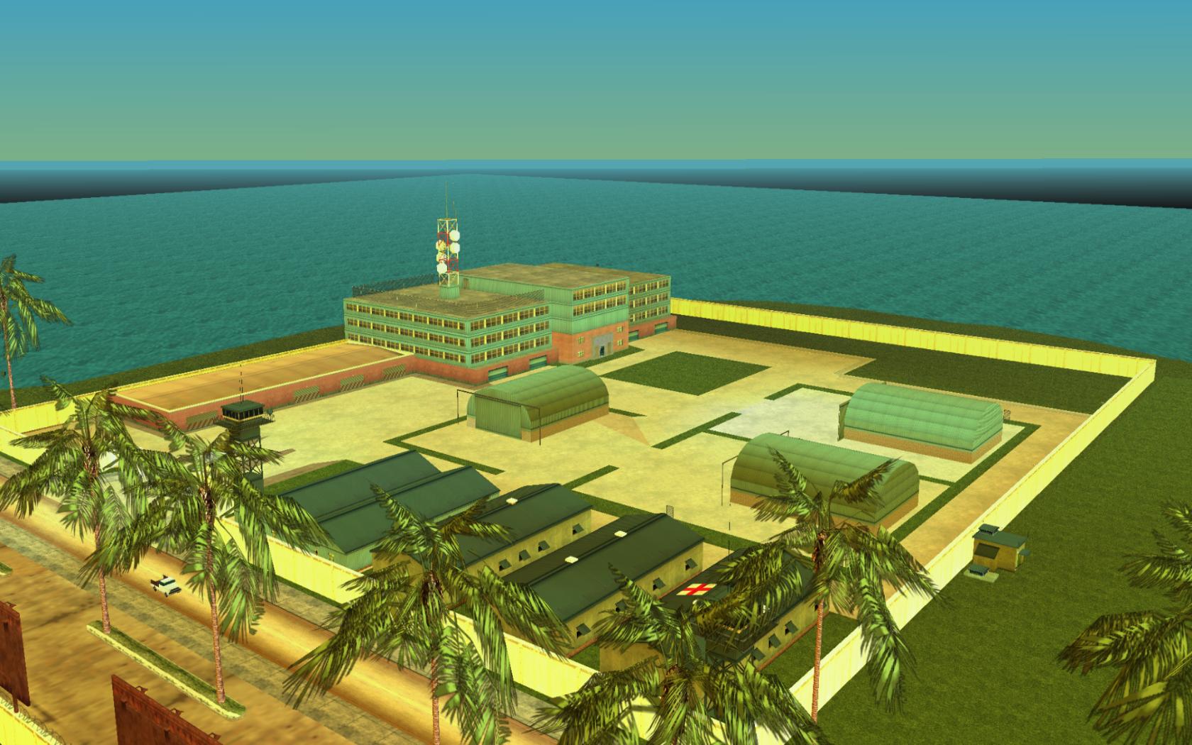Fort Baxter Air Base