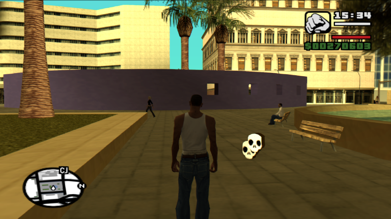 Multiplayer in GTA San Andreas
