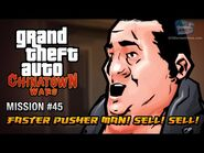 GTA Chinatown Wars - Mission -45 - Faster Pusher Man! Sell! Sell!