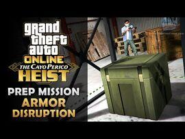 GTA Online- The Cayo Perico Heist Prep - Armor Disruption -Solo-