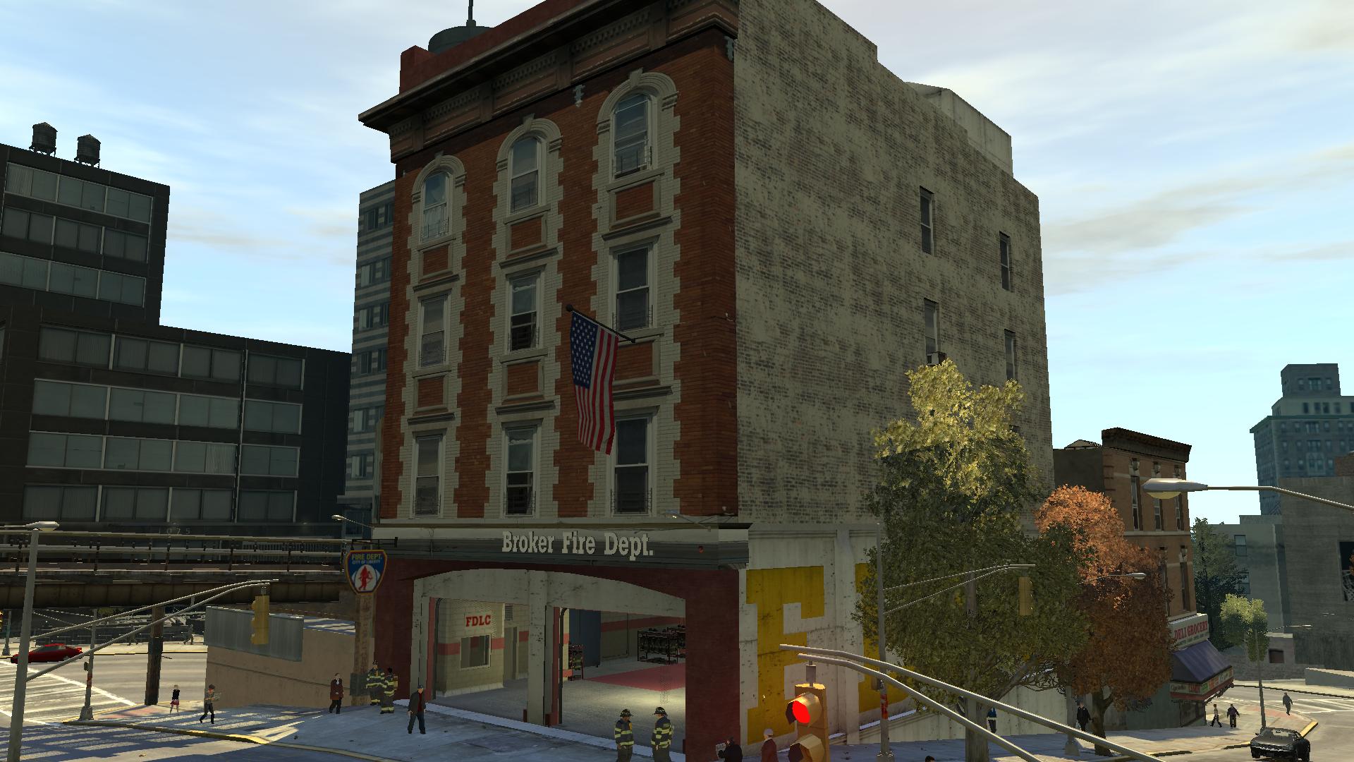 Broker Fire Station
