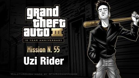 GTA 3 - iPad Walkthrough - Mission 55 - Uzi Rider