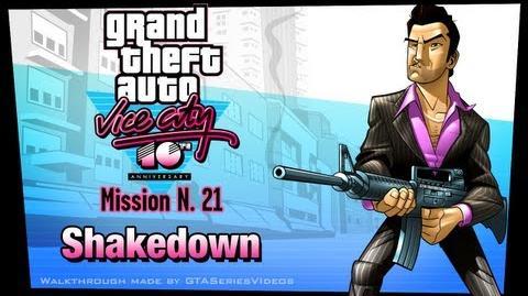 GTA Vice City - iPad Walkthrough - Mission 21 - Shakedown