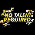 NoTalentRequiedTee-GTAO-Graphic