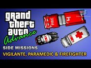 GTA Advance - Paramedic, Vigilante and Firefighter