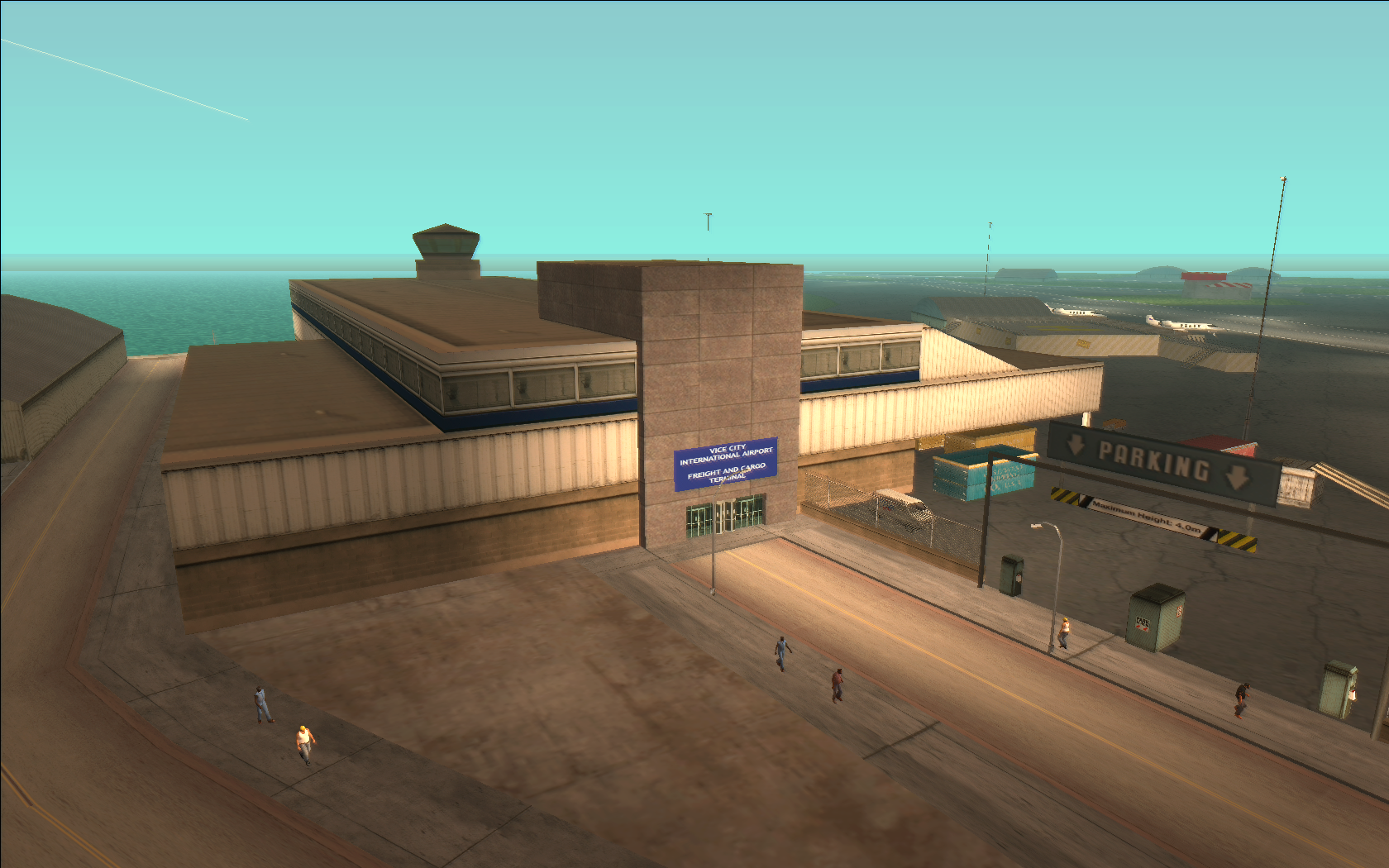 Vice City International Airport Freight and Cargo Terminal