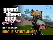 GTA Vice City Stories - All Unique Stunt Jumps