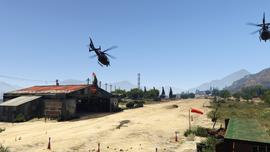 TheBigScoreObvious-GTAV-ChoppersTakingOff