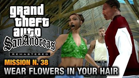 GTA San Andreas Remastered - Mission 38 - Wear Flowers in your Hair (Xbox 360 PS3)