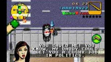 GTA Advance Mission 14 - Sober Driver