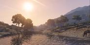 GTA V Sunset Zancudo River