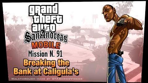 GTA San Andreas - iPad Walkthrough - Mission 91 - Breaking the Bank at Caligula's (HD)