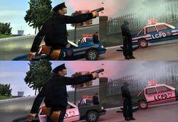 GTAIII cop cars