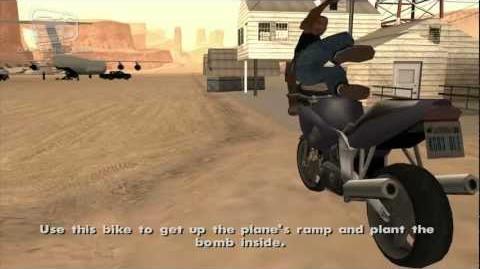GTA San Andreas - Walkthrough - Mission 71 - Stowaway Alternative Ending (HD)