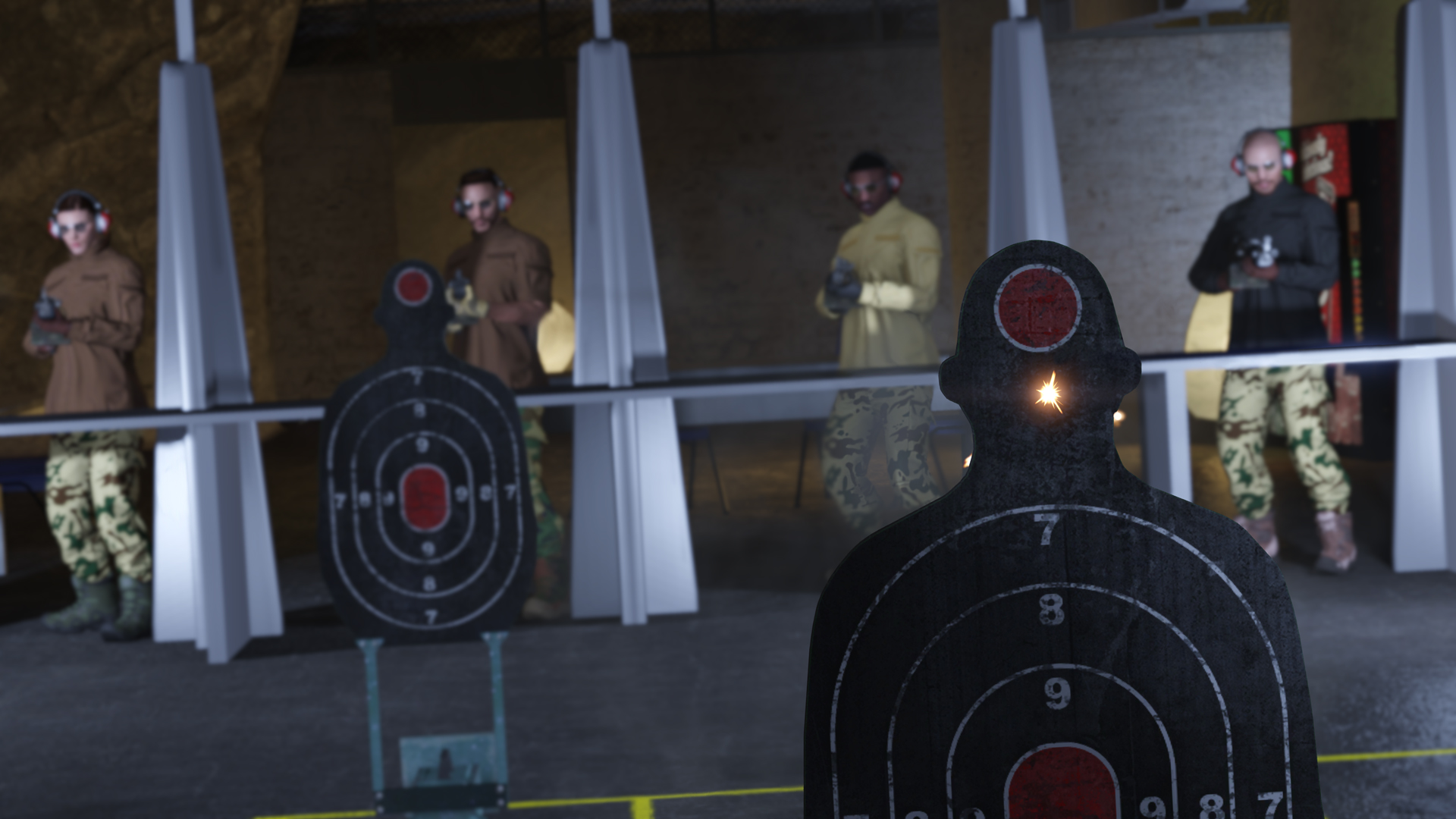 Bunker Shooting Range