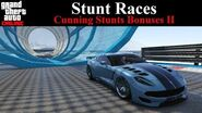 GTA Online Tracks - Stunt Races (Cunning Stunts Bonuses II)