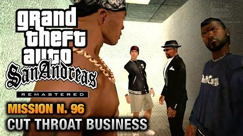 GTA San Andreas Remastered - Mission 96 - Cut Throat Business (Xbox 360 PS3)