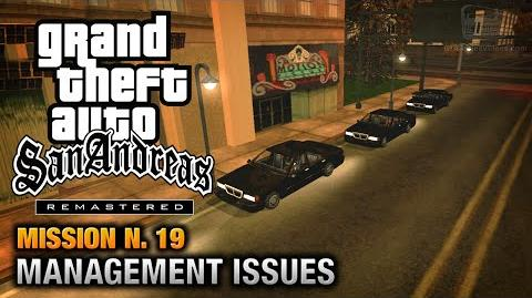 GTA San Andreas Remastered - Mission 19 - Management Issues (Xbox 360 PS3)