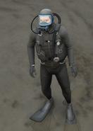 Scuba Suit GTAVpc Michael DirectorMode FullGear Front