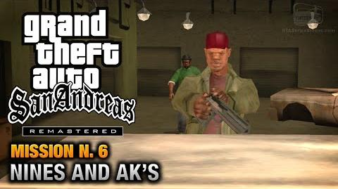 GTA San Andreas Remastered - Mission 6 - Nines and AK's (Xbox 360 PS3)