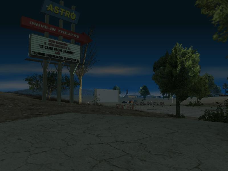 Astro Drive-In Theatre