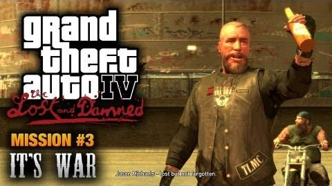 GTA_The_Lost_and_Damned_-_Mission_3_-_It's_War_(1080p)