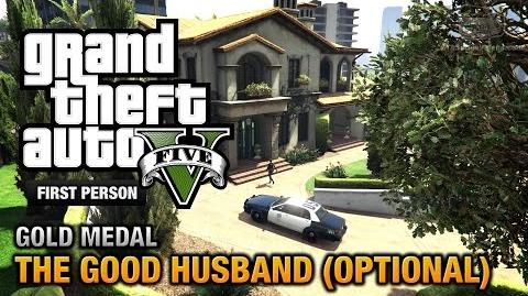 GTA 5 - Mission 10 - The Good Husband (Optional) First Person - PS4