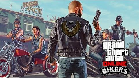 Grand Theft Auto GTA V 5 Online Bikers - Deadline Adversary Adv