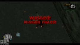 Wasted-GTALCS-MissionFailed