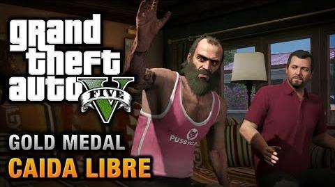 GTA 5 - Mission 45 - Caida Libre 100% Gold Medal Walkthrough