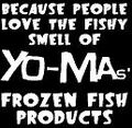 Yo-Ma's Frozen Fish Products Logo