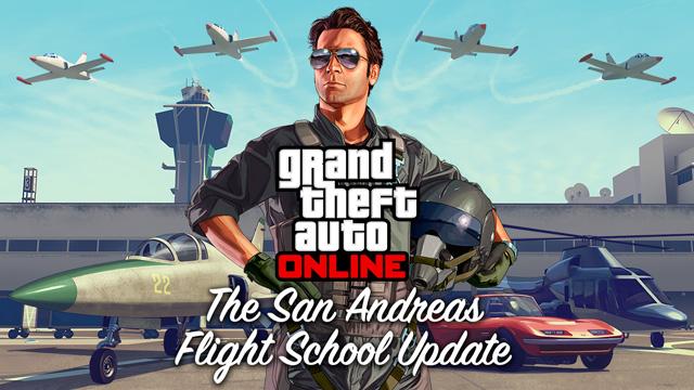 San Andreas Flight School Update